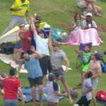 RAM SLAM T20: Crowd catches