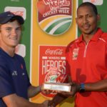 Peters named first hero