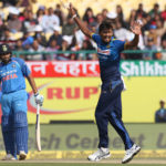 Lakmal slices through India