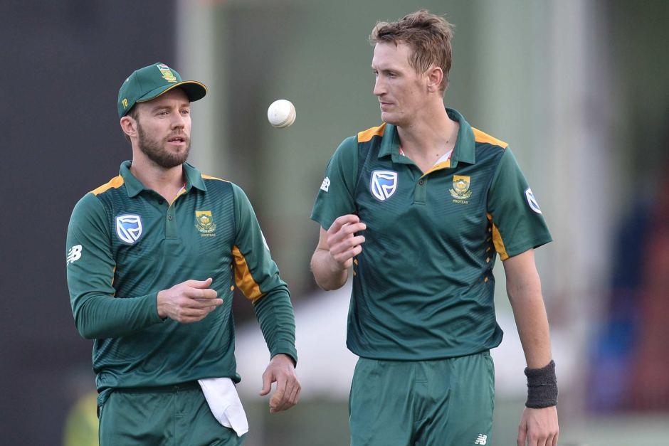 AB de Villiers and Chris Morris