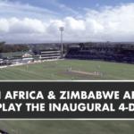 Four-day Test against Zimbabwe
