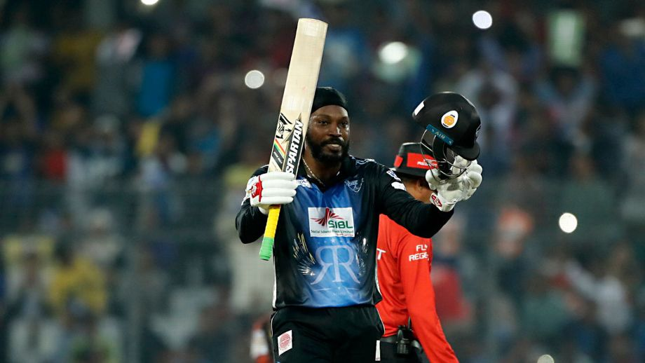 Gayle on record rampage