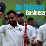Kohli's unfinished business