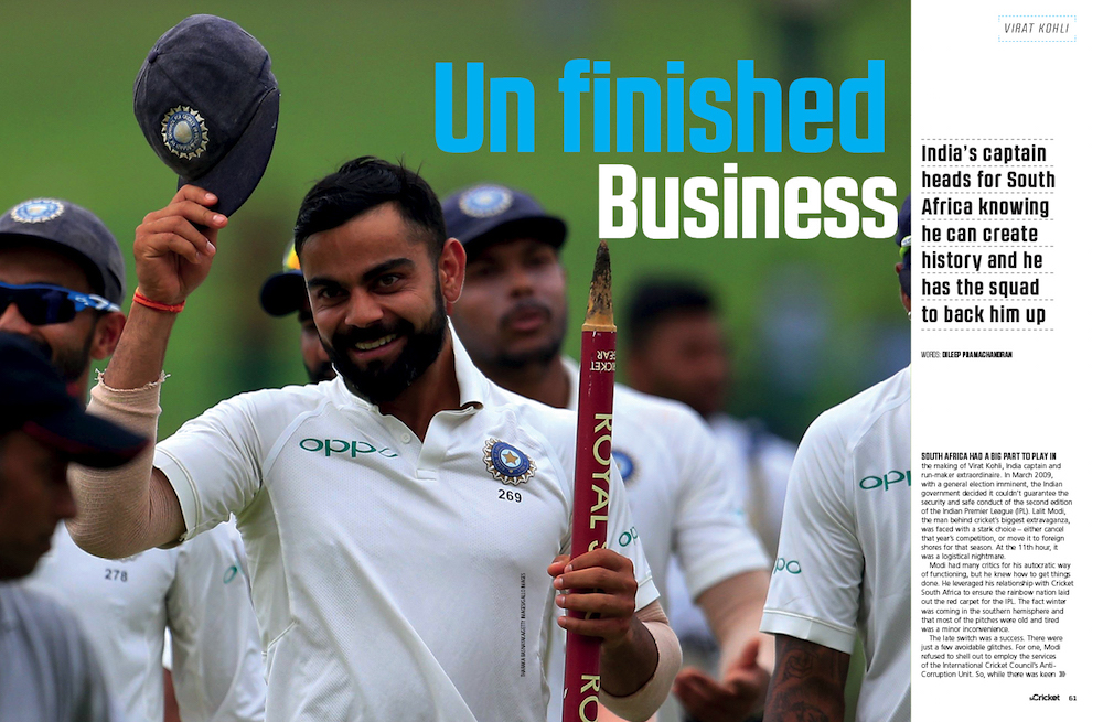 Kohli's unfinished business