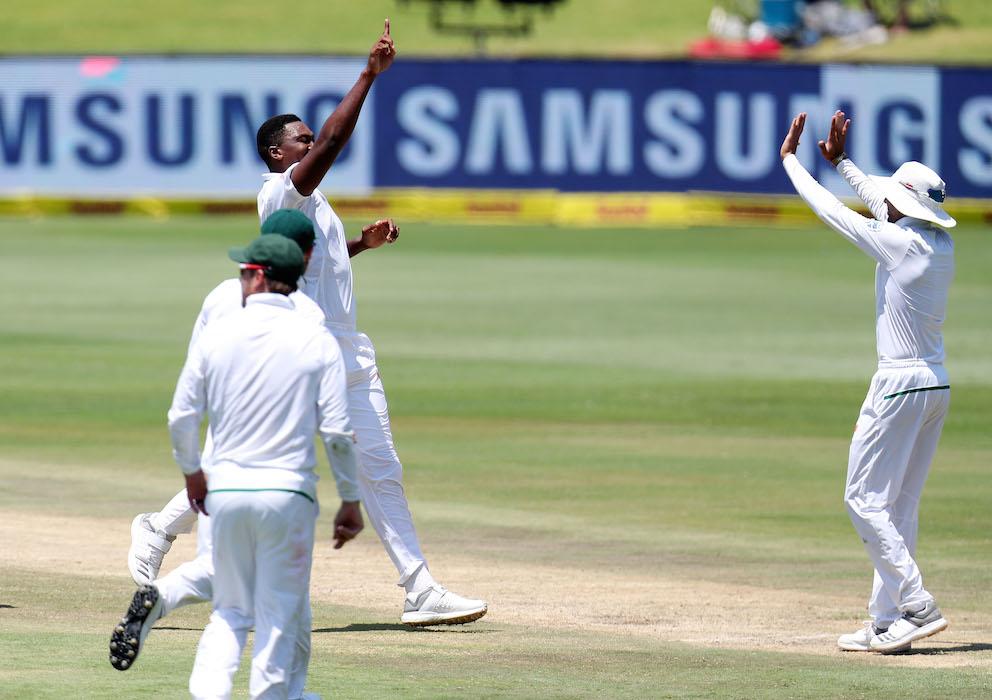 Ngidi dazzles on debut