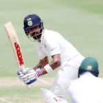 India progress despite volatile pitch