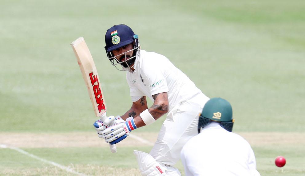 India progress despite volatile pitch