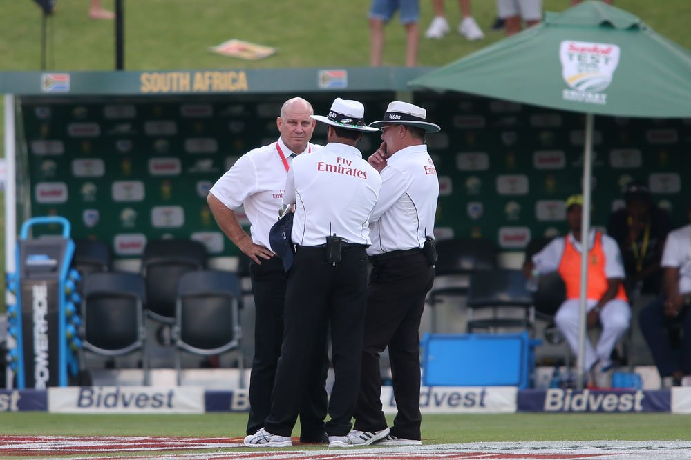 'We're here to play cricket'