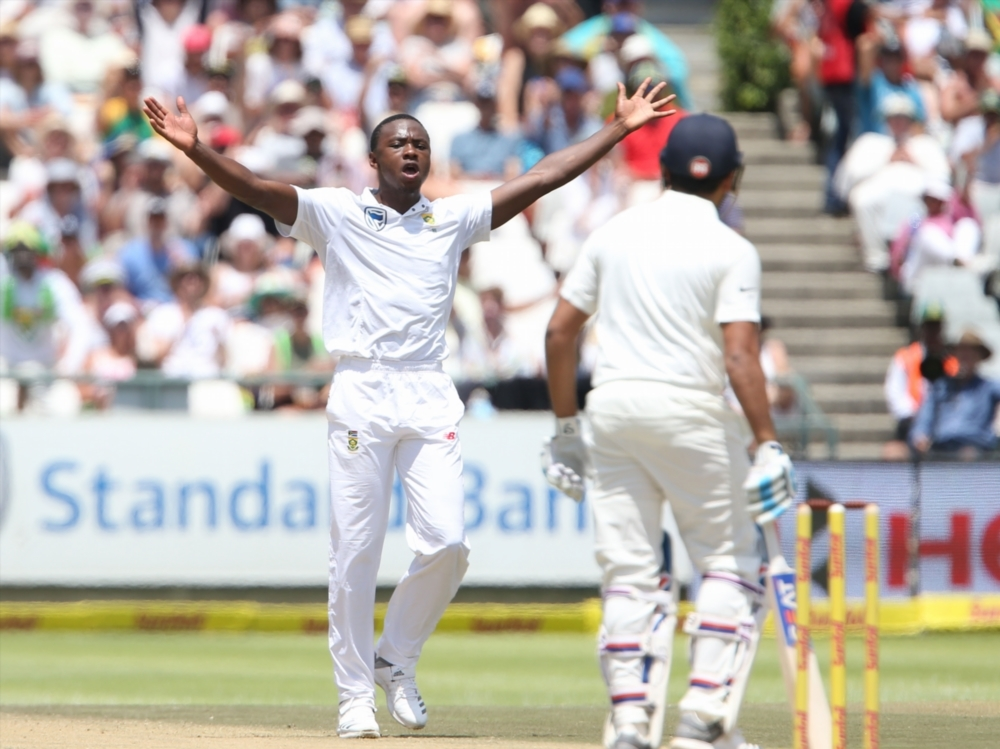 Rabada ends Rohit resistance