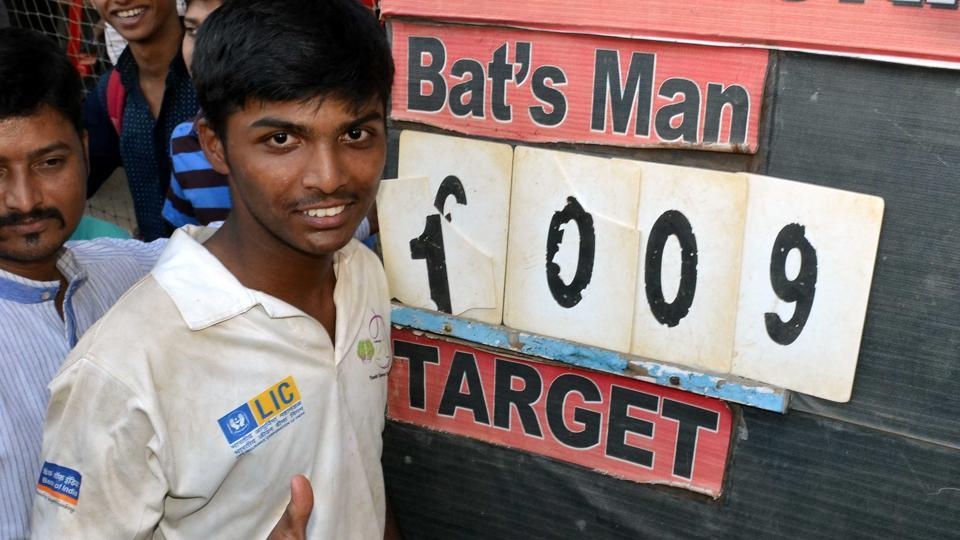 From hero to zero for 1,000-run boy