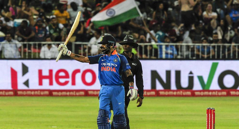 Kohli powers India to victory