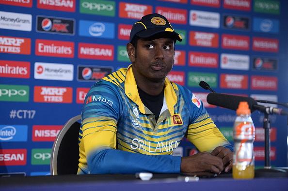 Sri Lanka lose Mathews to injury