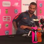 Dhawan post-match presser