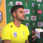 Reeza Hendricks post-match presser