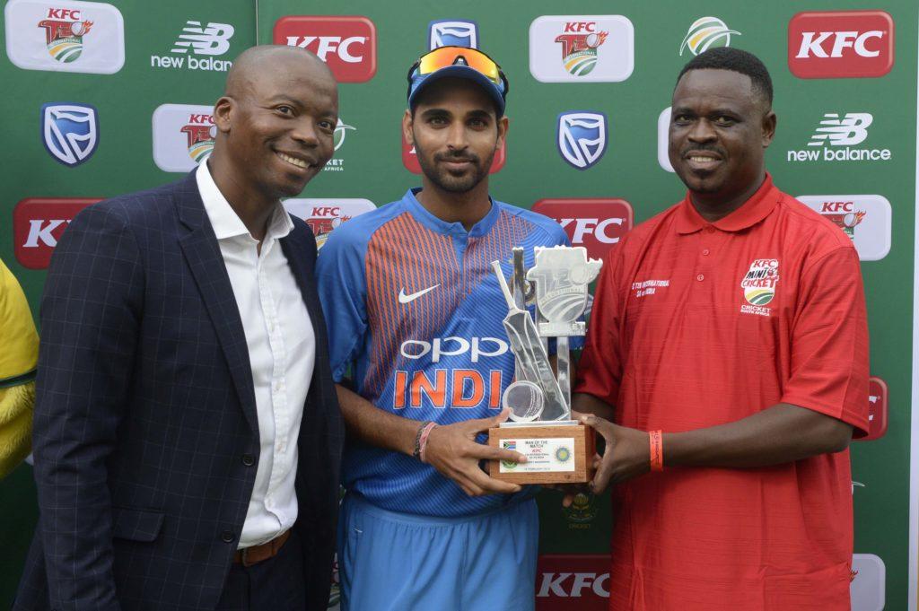 Kumar tears into SA top order