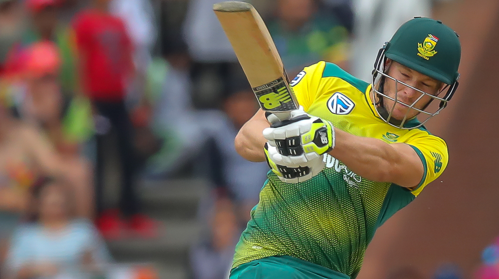 Miller cracks nod as stand-in Proteas skipper