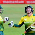 Proteas charge washed out