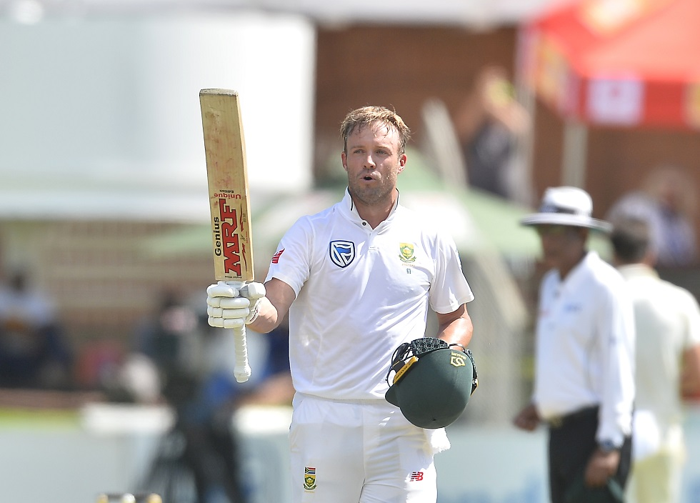 AB gives Proteas solid lead