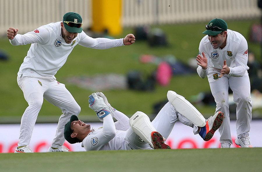 Proteas in charge in Durban