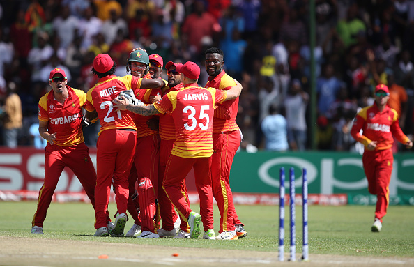 Zimbabwe players in happier times
