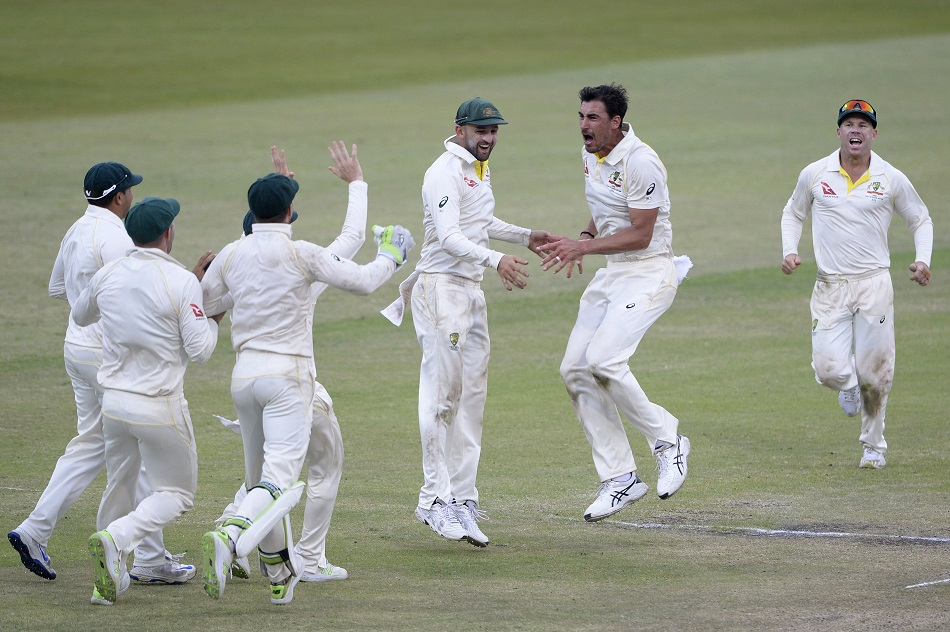 Aussies win, take 1-0 series lead