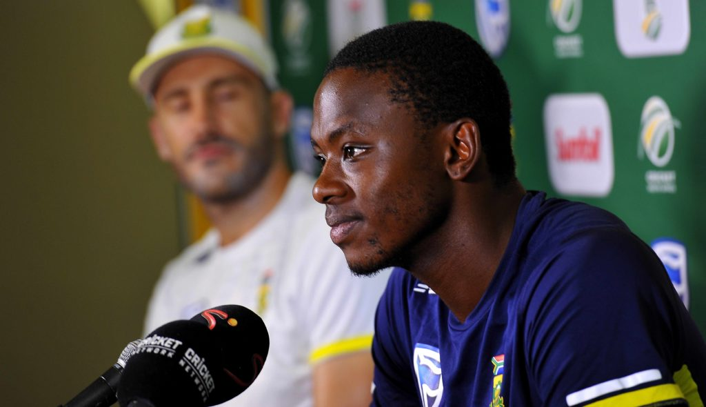 Rabada will learn his lesson