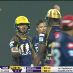 Rana, Russell star for KKR