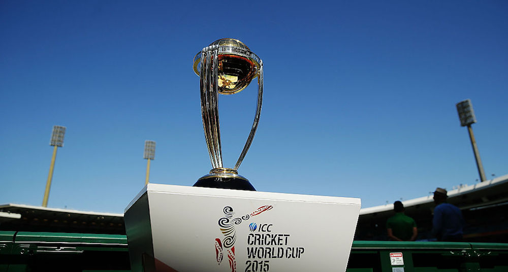 2019 World Cup fixtures