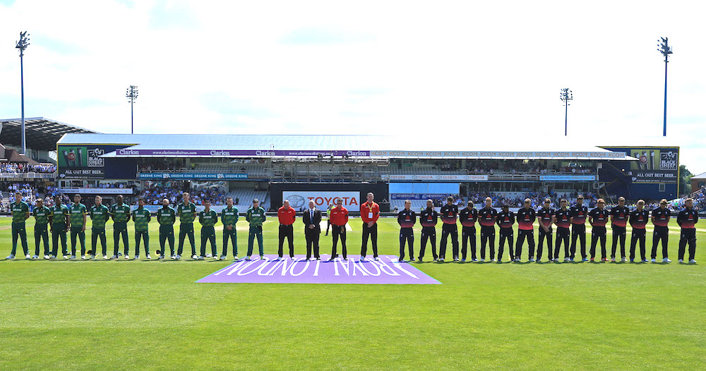 Proteas play WC opening game