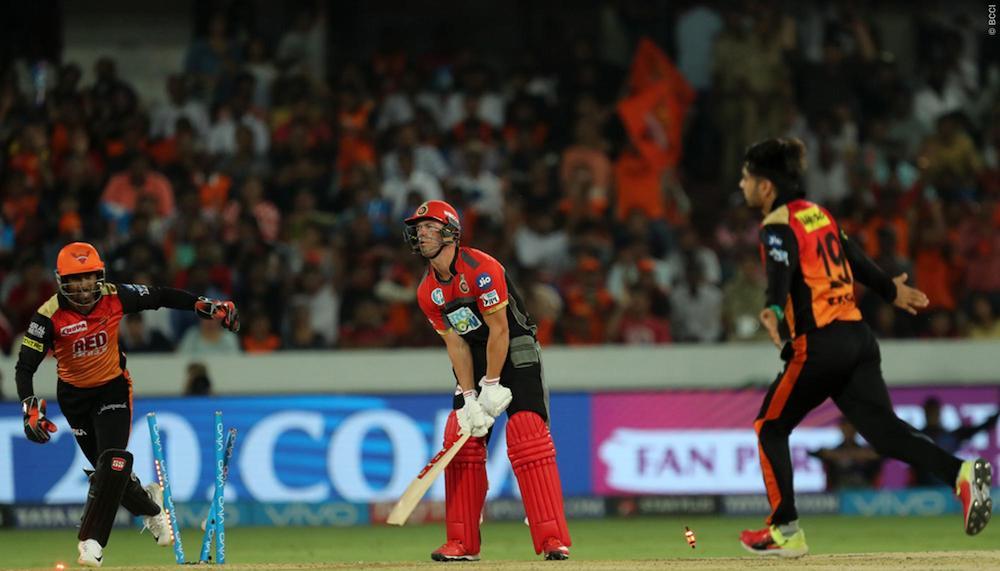 RCB choke as SRH prevail