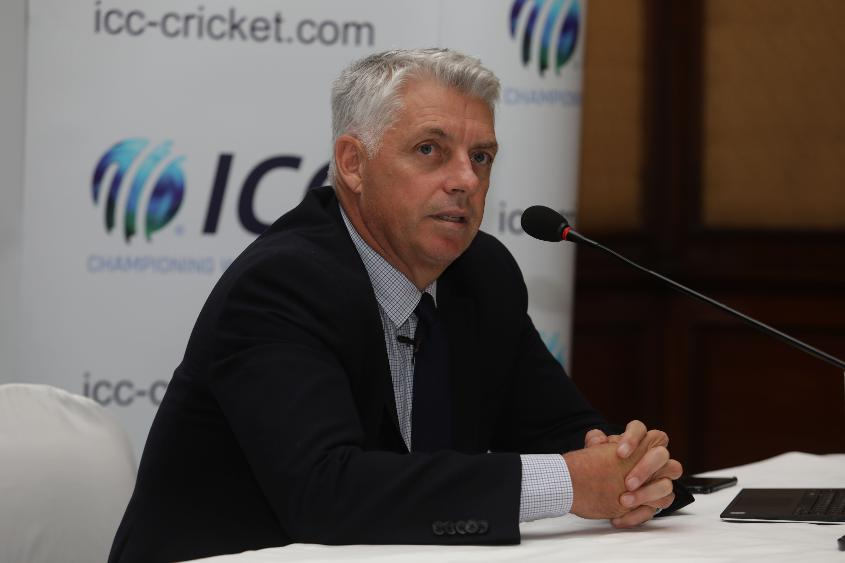 Sawhney officially succeeds Richardson as ICC CEO