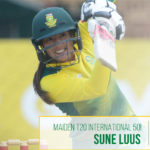 Luus, Van Niekerk set up series-clinching win