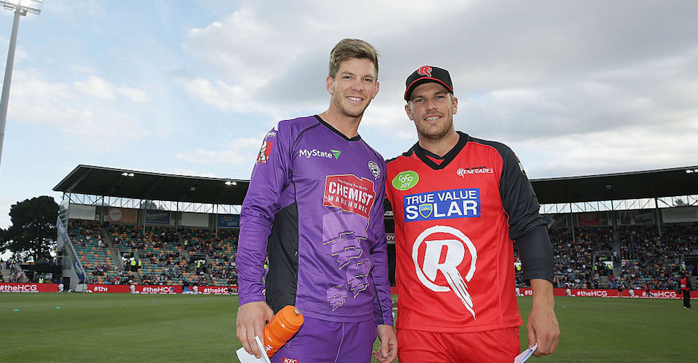 Paine, Finch share white-ball captaincy