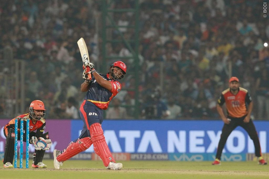Masterclass in clean hitting from Rishabh Pant
