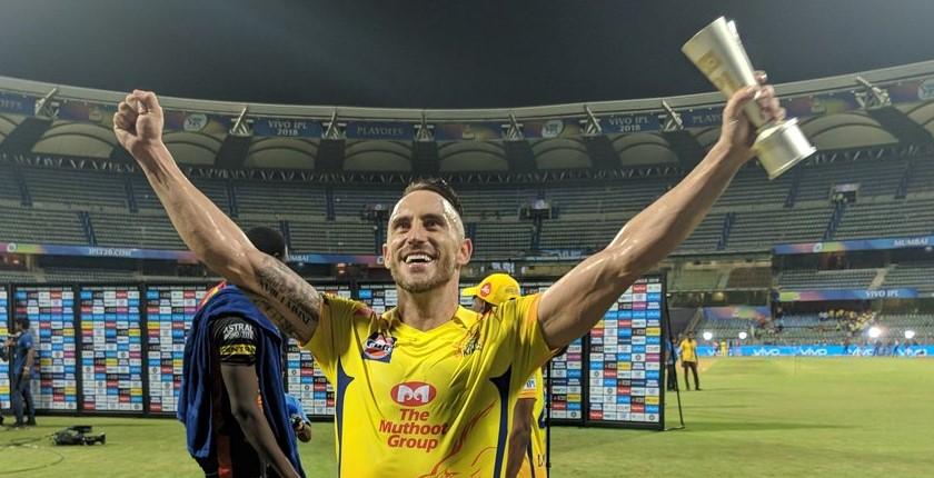 Faf takes Chennai into IPL final