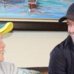 AB surprises a young fan
