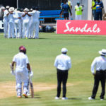 Sri Lanka strike after ball-tampering charge