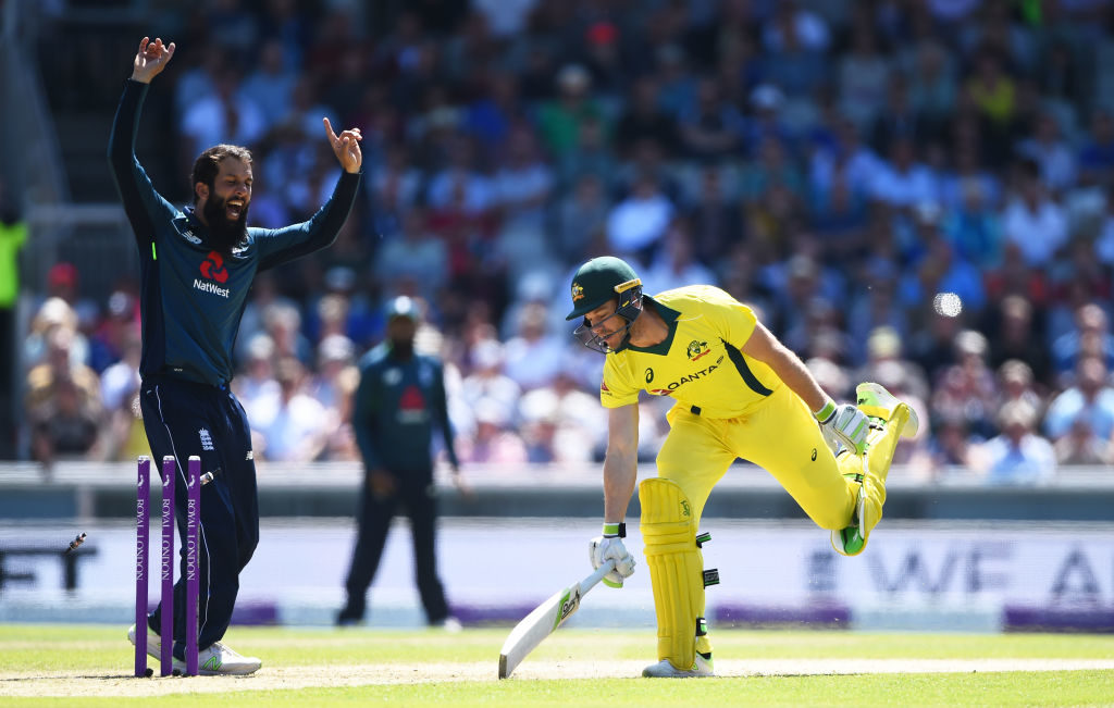 Moeen Ali's 4-46 shoots him up the ODI rankings