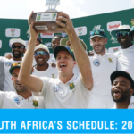 38 Tests await South Africa in next five years