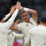 England get into the swing
