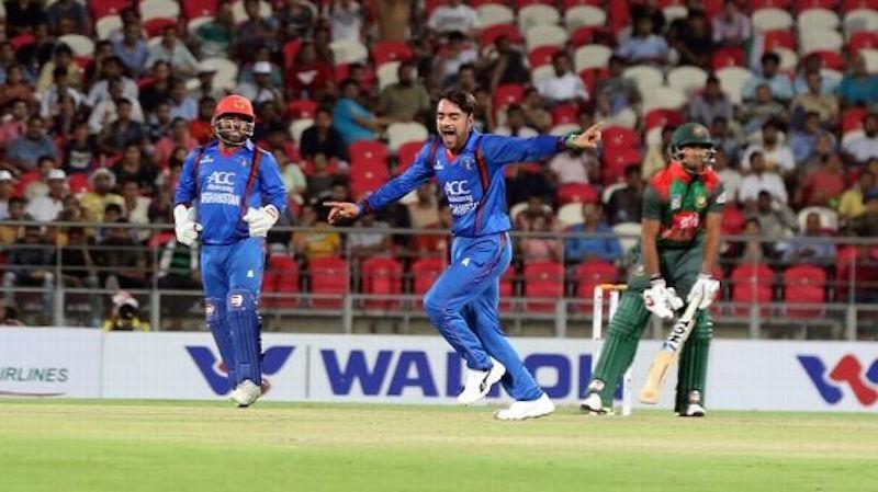 Rashid stars in series win