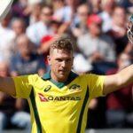 Record-breaking Finch batters Zimbabwe