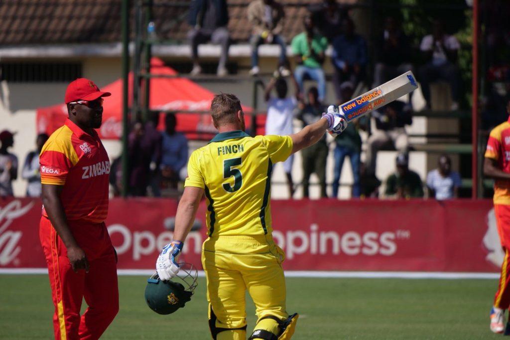 Finch sets world record T20I score