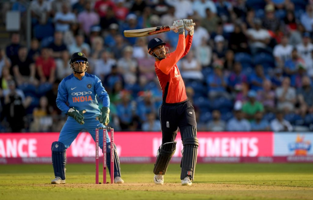 Hales anchors England win