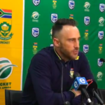Faf ahead of Sri Lanka tour