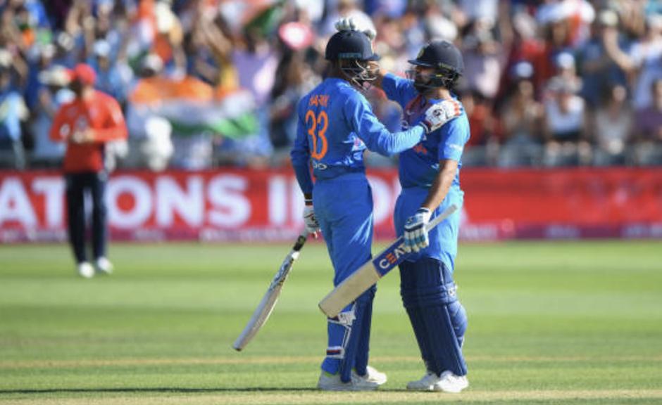 Sharma, Pandya crush England