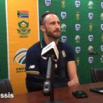 Du Plessis arrival presser