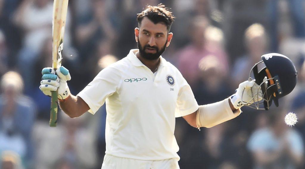 Pujara ton earns India narrow lead