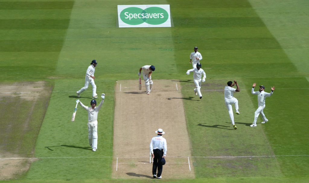 England lose grip on first Test