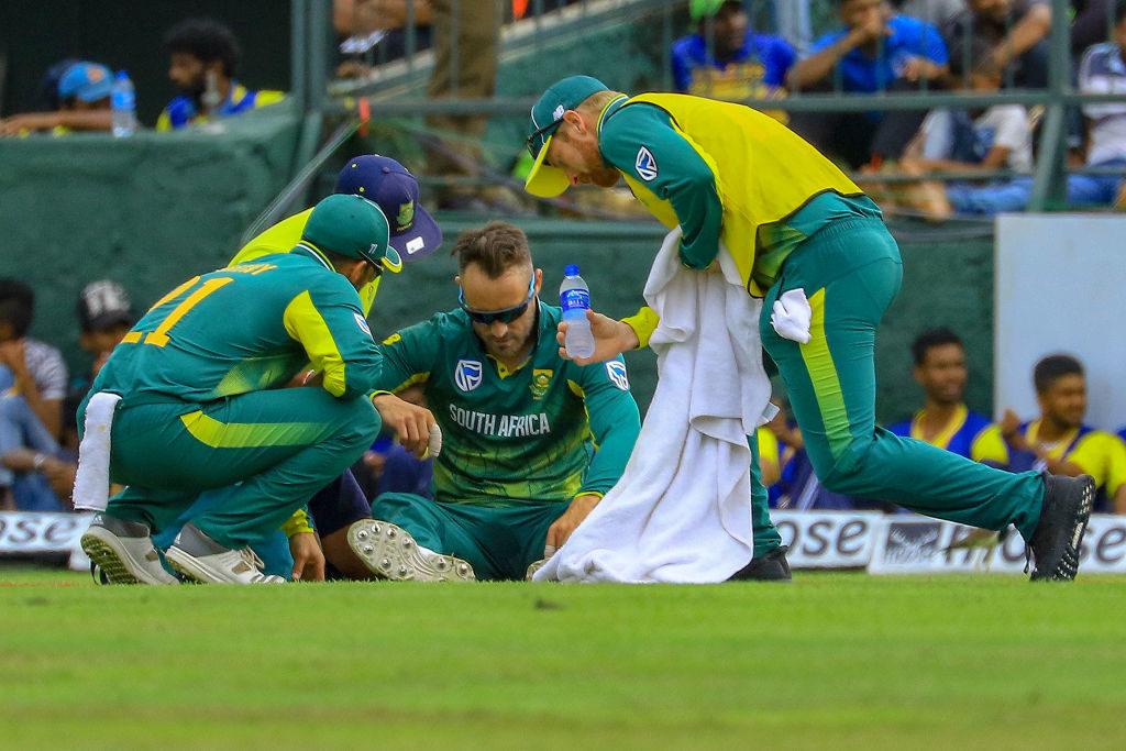 Faf out of Sri Lanka tour